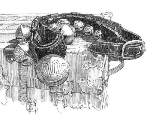 Bells – Pencil Sketch